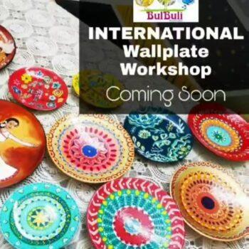 INTERNATIONAL ONLINE WALLPLATE WORKSHOP **Please read till the end**  Announcing...