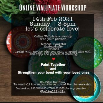 Let's Celebrate Love! Our much awaited couple wallplates workshop is happening o...