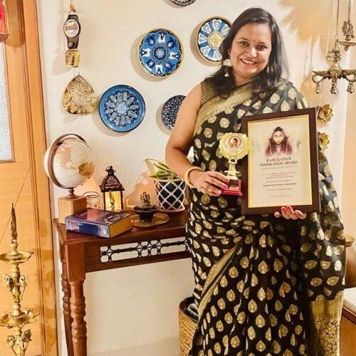 **Rahi Kadam Inspiration Award**  Honoured and humbled to be recognised and awar...