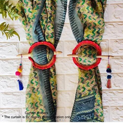 You know what these are  They are hand-crocheted colorful little hoops of joy!  ...